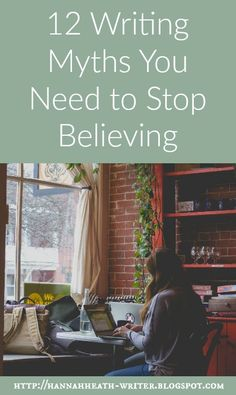 Hannah Heath: 12 Writing Myths You Need to Stop Believing Writing Quotes, Fiction Writing, Writing Advice, Writing Resources, Writing Help, Writing Skills, Writing Notebook, Writing A Book, Writers Write
