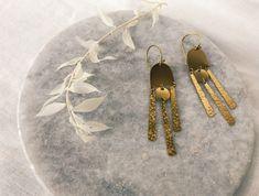 Dangles for days. Dangles, Drop Earrings, Modern, Jewelry, Design, Fashion, Moda, Trendy Tree, Jewlery