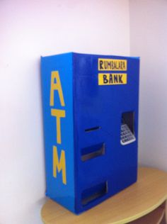 ATM learning bank money