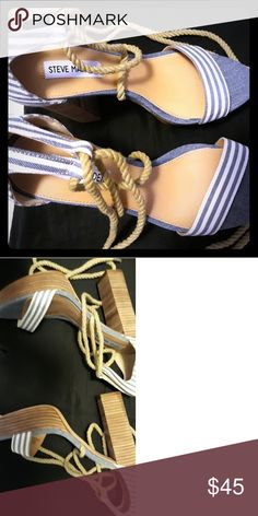 75b97227cda Brand New Steve Madden Shoes Brand new. About 4 inches tall. Tried them on