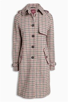 Buy Heritage Check Coat from the Next UK online shop