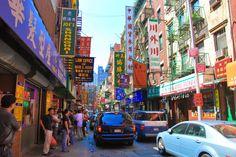 New Yorkin värikäs ja vilkas Chinatown