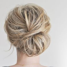 The low chignon, plus four other easy hairstyles