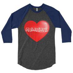 Love Mahshi Baseball T-shirt