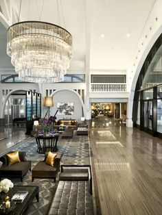 Fullerton Bay Hotel, Singapore bu Andre Fu