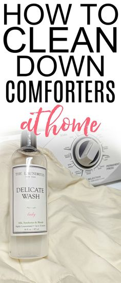 Skip the dry cleaner and save some money with these easy tips on how to wash a down comforter. It's simple to wash a down comforter at home. Deep Cleaning Tips, Cleaning Hacks, Green Cleaning, Organizing Tips, Fashion Kids, Washing Down Comforter, Dollar Tree Storage Bins, Advent Calendars For Kids, Clean Baking Pans