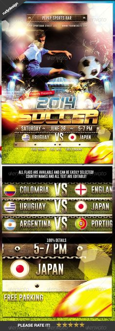 Playoff Game Day Football Flyer Template Flyer template, Event - football flyer template