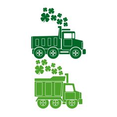 Clover Dump Truck Cuttable Design Cut File. Vector, Clipart, Digital Scrapbooking Download, Available in JPEG, PDF, EPS, DXF and SVG. Works with Cricut, Design Space, Cuts A Lot, Make the Cut!, Inkscape, CorelDraw, Adobe Illustrator, Silhouette Cameo, Brother ScanNCut and other software.