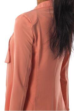 Oransje Dehli Jacket Pink fra Kouture - Blazer