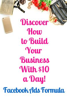 Discover the super simple Facebook Ads Formula to generate unlimited leads for your business.