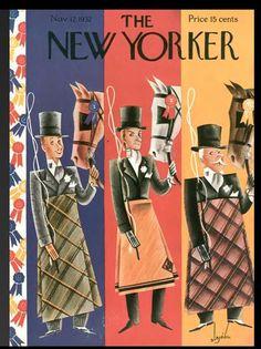 New Yorker cover,1932, Constantin Alajalov.