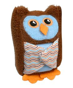 Look at this #zulilyfind! Blue Boo Hoo Owl Ice Pack by Stephan Baby #zulilyfinds