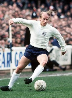 England's all time top goal scorer with 49 goals, Charlton embodied the passion and commitment playing for your country represents. The less said about the hair the better however!