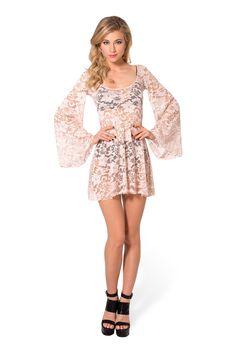 Arabella Blush Dress › XS.