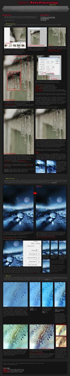 Tutorial 2: Post-Processing P1 by onixa on DeviantArt