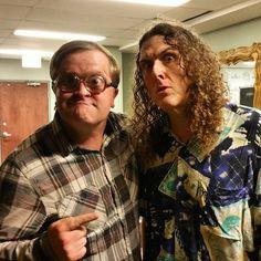 Great to meet Weird Al in Halifax last night. Great show! @AlYankovic #