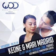 World of Dance Los Angeles is right around the corner! You don't want to miss the Keone Madrid and Mariel Madrid duet!  | Get your tickets now at https://wod.webconnex.com/2014losangelesticketing |