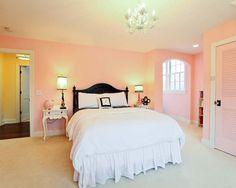 Pink Bedroom Interior
