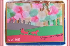 Noa's Créas - Démonstratrice Stampin'Up en Haute-Savoie et alentours: Carte de Noël