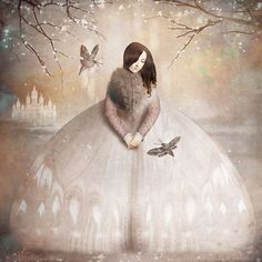 Anything can happen in a world that holds such beauty - Christian Schloe is a talented Chilean artist whose work includes digital art, painting, illustration, and photography. Art And Illustration, Illustrations, Digital Painter, Digital Art, Pale Dogwood, Motifs Art Nouveau, Max Ernst, Magic Realism, Wassily Kandinsky