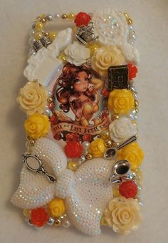 Beauty Till The Last Pedal Falls Beast iPhone by ExpressiveCases Bling Phone Cases, Diy Phone Case, Cute Phone Cases, Iphone Phone Cases, Phone Covers, Samsung Cases, Decoden Phone Case, All Iphones, Sell On Etsy
