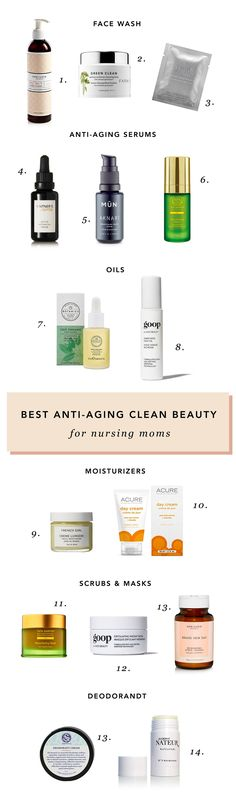Safe Anti-Aging Skincare For Breastfeeding Mamas | The Mama Notes