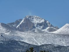 Hiking to the Keyhole on Longs Peak in Rocky Mountain National Park, Colorado