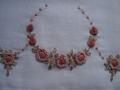 Rococo embroidered by Laline ZACARKIM, via Flickr