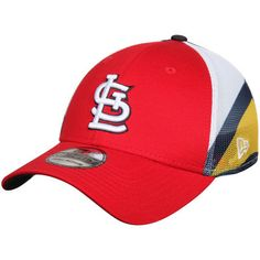 St. Louis Cardinals New Era Logo Wrapped 39THIRTY Flex Hat - Red