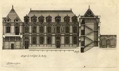 Paris Androuet DU Cerceau Hôtel DE Sully Gravure Architecture Jean Marot Xviiè | eBay