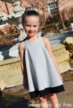 Twirl Dress Twirly Dress Black and White Dress Polka Dot Outfits Niños, Kids Outfits, Twirl Skirt, Dresses Kids Girl, Dress Black, White Dress, Kind Mode, Kids Wear, Baby Dress