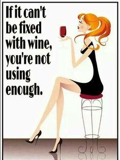 """si no  lo  pudiste  """"arreglar"""" con  vino  ,  es  por  no  usar  suficiente  !!  .....  Oky"""