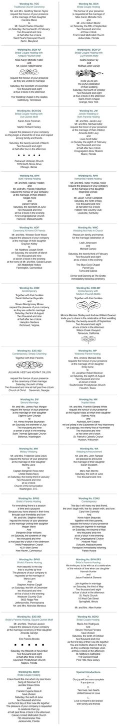 Sample Of Wedding Invitation Wording u2026 Emily Pinterest - new leave application letter format for brother marriage