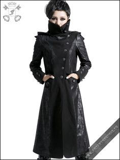 Black Dragon female coat | Gothic, Steampunk, Rock, Fetish, and other Alternative fashion retail and wholesale apparel & accessories