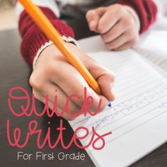 You guys have been asking and now it is FINALLY here!!! Use this file with your students as you head into this school year and fill it with writing. In this file, it includes 4 weeks of quick writing prompts for each month to use with your students at any part of your
