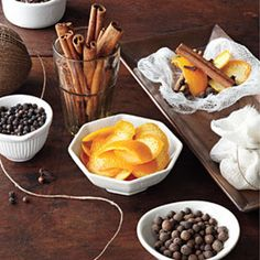 Food Gifts for Christmas: Mulling Spices Gift