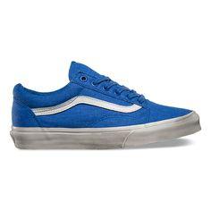 312364dcd7c071 Overwashed Old Skool by Vans Blue Sneakers