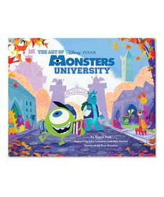 Another great find on #zulily! The Art of Monsters University Hardcover #zulilyfinds