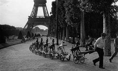 La Cavalerie du Champs de Mars, Juin 1969 by French photographer Robert Doisneau