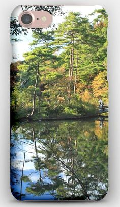 iPhone 7 Case Autumn, Park, Lake, River