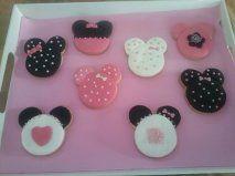 Galletas de Minnie Mouse.