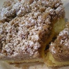 The Ultimate Crumb Lovers Coffee Cake on BigOven: If you love the crumbs more than the cake (and frankly who doesn't), this is just for you!!  This is coffee cake NEW YORK STYLE!