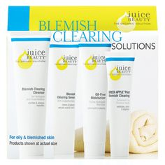 Blemish Clearing Solutions