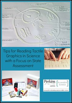 Tips for teaching tactile graphics in science to students who are blind or visually impaired