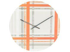 Karlsson Tartan Wall Clock   Wayfair UK