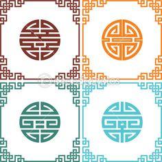 geometric asian design elements | asian design, design elements