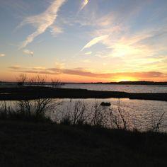 Fenwick Island sunset. Winter 2012
