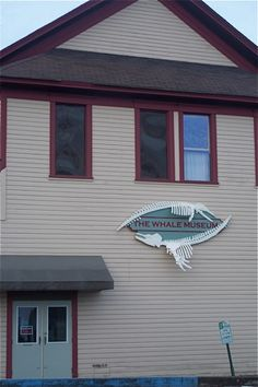 The Whale Museum. San Juan Island, Washington.     A great place to learn about the local whale population and what is being done to protect them.