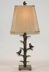 Bird Lamp bronze
