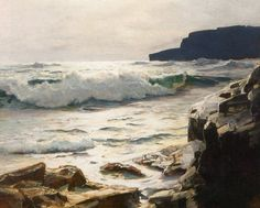 Frederick Judd Waugh (1861 - 1940) was an American artist, primarily known as a marine artist.